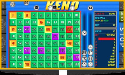 Gambling keno all for gambling