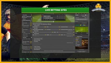 online live betting sites