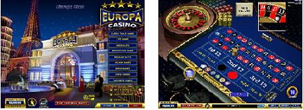 Play Top Games at Europa Casino
