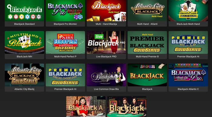 Just Casino Blackjack Screenshot