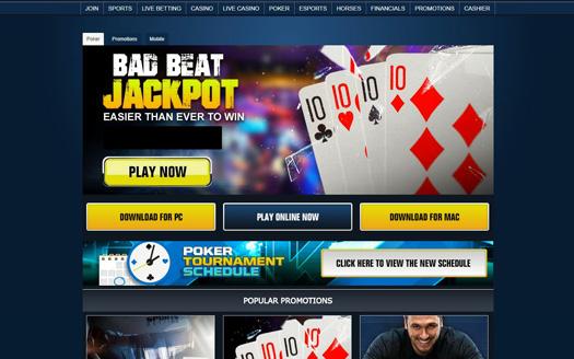 Sportsbetting.ag Poker Screenshot