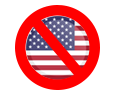 US Not Accepted Icon